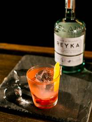Reyka Cranberry Aperitif cocktail recipe
