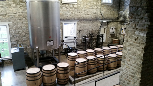 Barrels and cooperage - Woodford Reserve Distillery