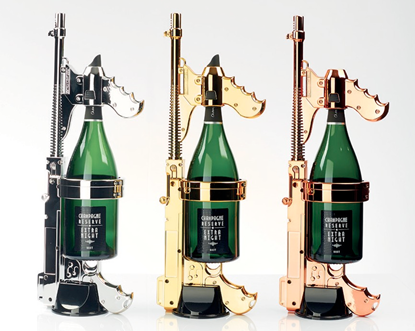 King of Sparklers Champagne Gun - Nightclub & Bar Show Product Watch