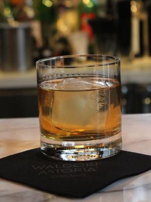 Waldorf Astoria Chicago Paddy Cocktail