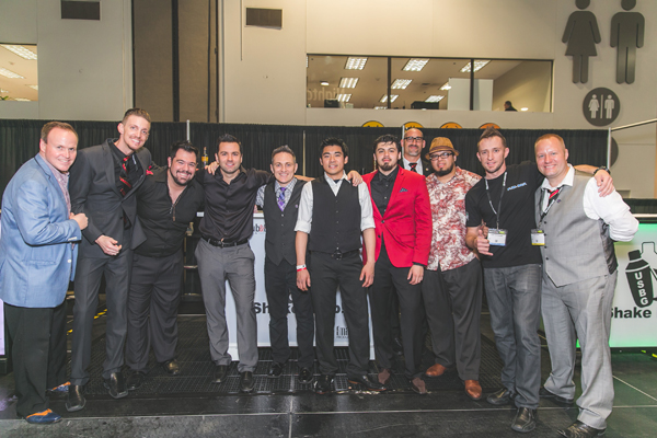 2016 USBG Flair Competition contestants - 2016 Nightclub & Bar Show