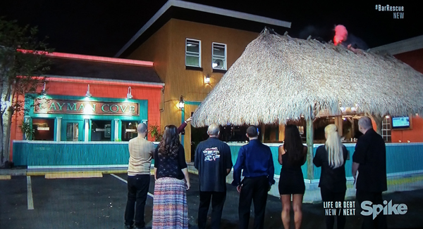 Dale 1891 transformed into Cayman Cove on Spike TV's Bar Rescue