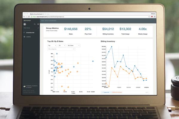 Web-based bar management software - BevSpot