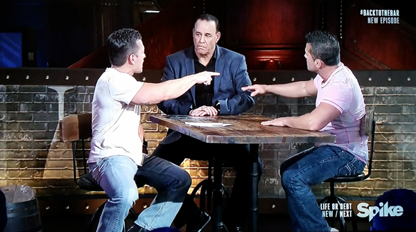 Justin Whitfield, Jon Taffer and Shawn Machado - Spike TV's Bar Rescue Back to the Bar