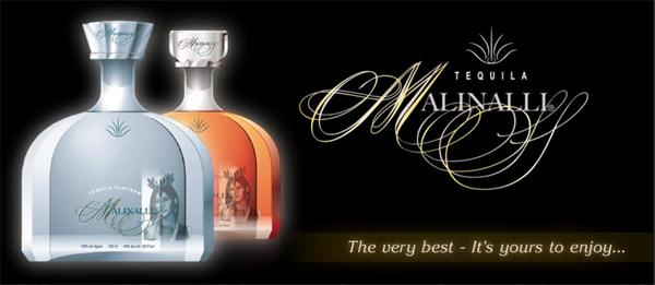 Ultra-premium platinum and extra anejo tequila - Malinalli Tequila