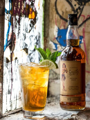 Sailor Jerry Throw Shade cocktail recipe - Beertails, hoptails and beer cocktails