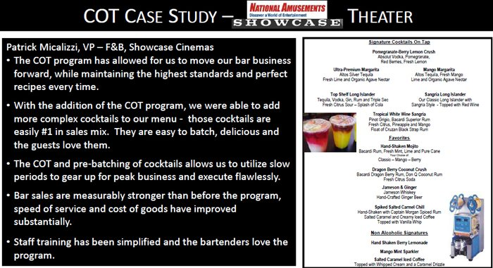 Cocktails on tap case study number 1 - Kathy Kasey Liquid Kitchen