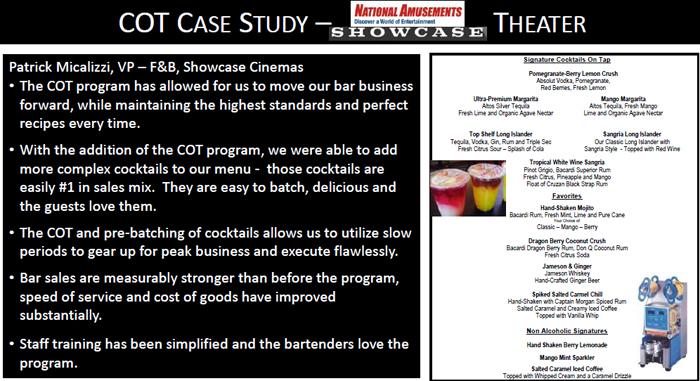 Cocktails on tap case study number 1 - Kathy Kasey Liquid Kitchen