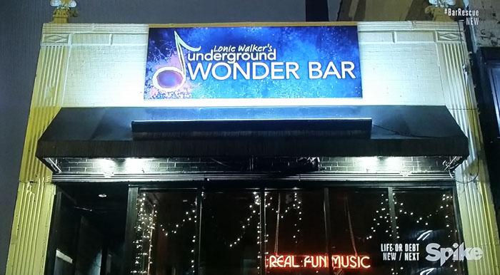 Lonie Walker's Underground Wonder Bar - Back to the Bar Empty Pockets - Spike TV's Bar Rescue