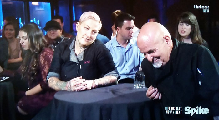 Chef Pink and Sal - Back to the Bar Empty Pockets - Spike TV's Bar Rescue