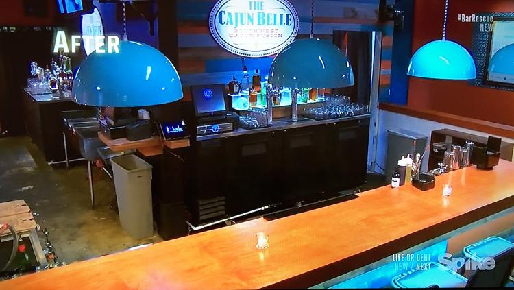 The Cajun Belle interior - Spike TV's Bar Rescue with Jon Taffer