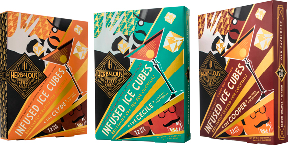 Herb & Lou's Infused Cubes - 2016 Nightclub & Bar Show products