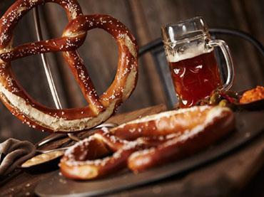 Prop & Peller Bavarian craft pretzels - 2016 Nightclub & Bar Show products