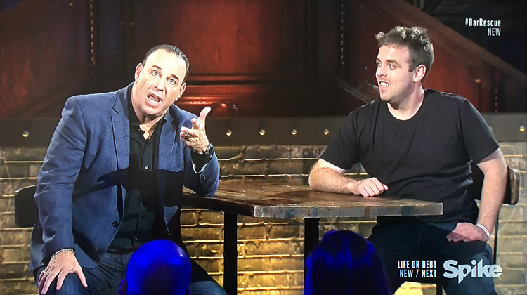 Angelo from The Lister- Bar Rescue Back to the Bar: The Luck of the Irish