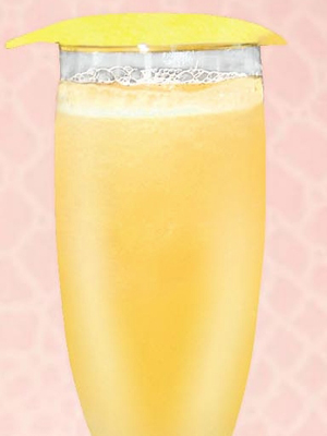 Golden Bellini - World Cocktail Day 2016 cocktail recipes