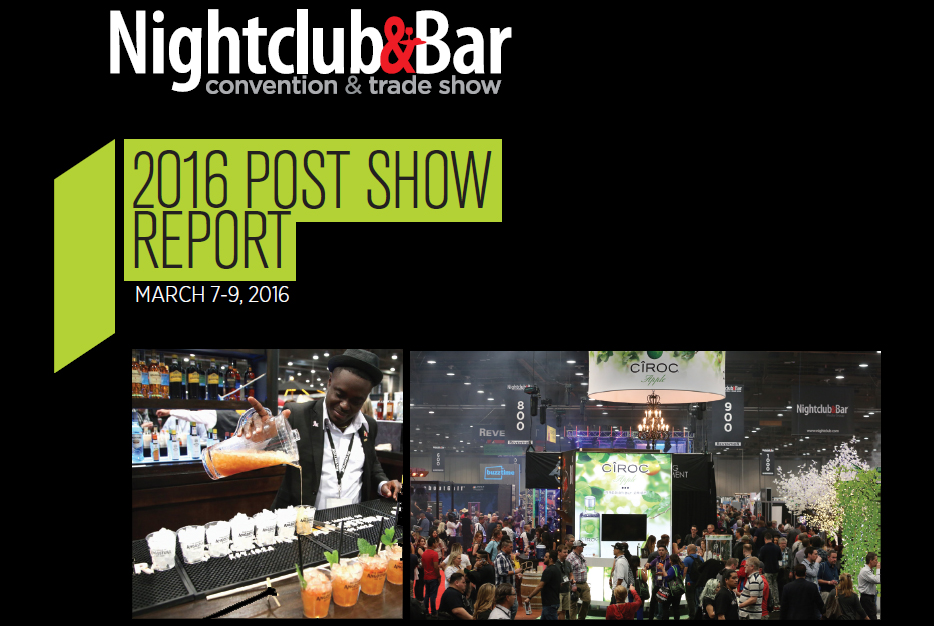 2016 Nightclub & Bar Convention and Trade Show Post Show Report