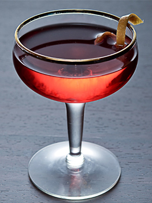 Boulevardier cocktail - Whiskey cocktails