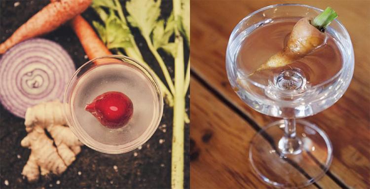 Cocktail garnishes - Fun bar ideas