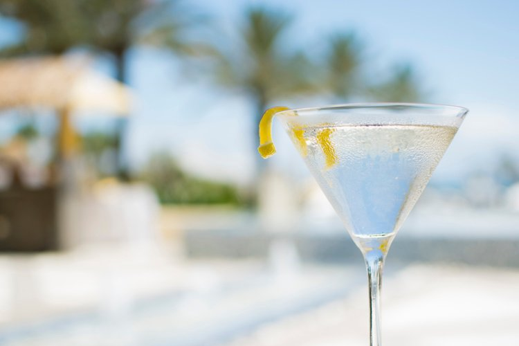 Botanical Martini cocktail recipe - Seaglass at Omni Amelia Island Plantation Resort