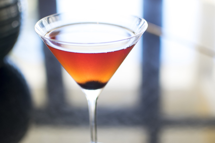Royal Manhattan cocktail recipe - Seaglass at Omni Amelia Island Plantation Resort