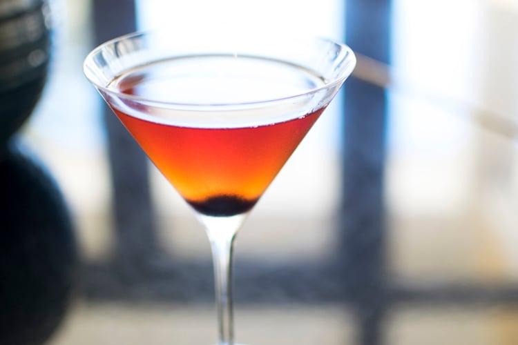 Royal Manhattan cocktail recipe - Seaglass at Omni Amelia Island Plantation Resort