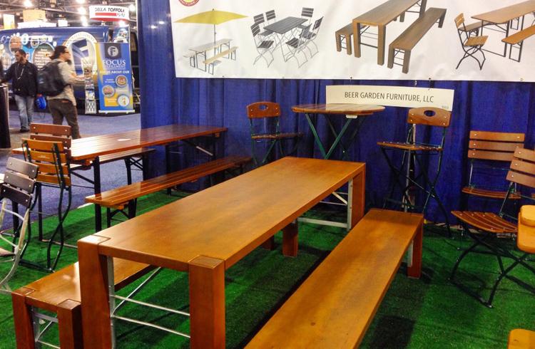 Beer Garden Furniture - 2016 Craft Brewers Conference & BeerExpo America