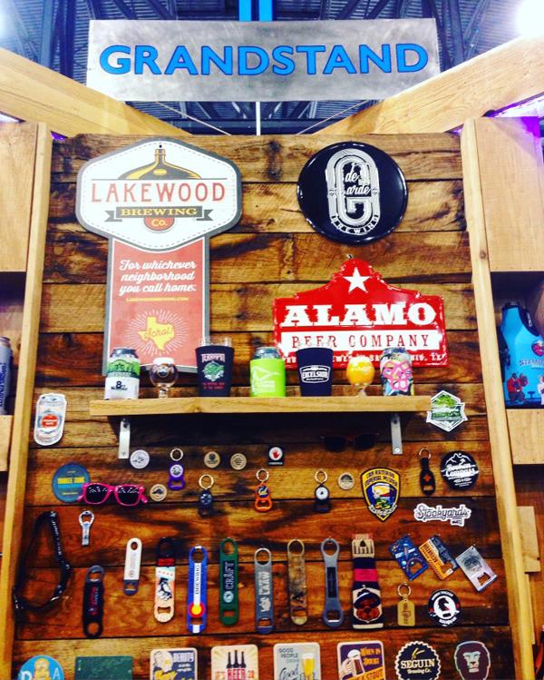Grandstand Glassware & Apparel - 2016 Craft Brewers Conference & BeerExpo America
