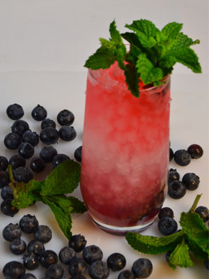 Berry Patriotic - Fourth of July Cocktails