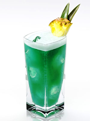 Disaronno Blue Heaven - Fourth of July Cocktails