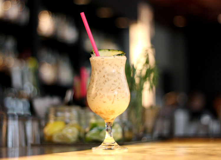 Beach Please at Sable Kitchen & Bar - National PiA+-a Colada Day 2016