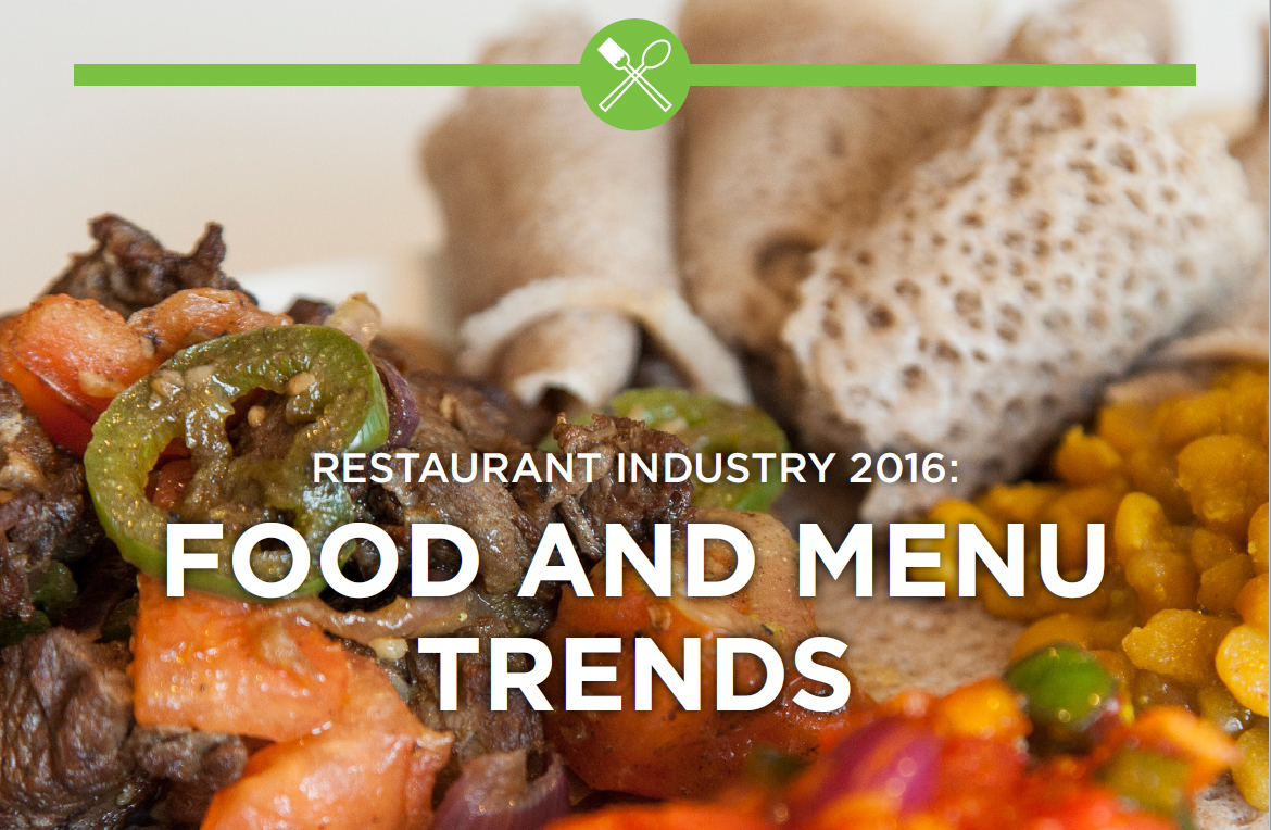 Top food menu trends for 2016 nightclub bar digital for Food bar trends