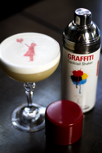 Banksy Sour - National Scotch Day 2016 cocktail recipes