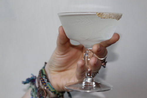 Dirty Martini cocktail recipe - Brine cocktails