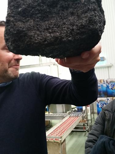 Icelandic water filtering through granite - Martin Miller's Gin