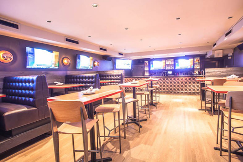 The Fifty/50 downstairs bar - The Fifty/50 sports bar profile