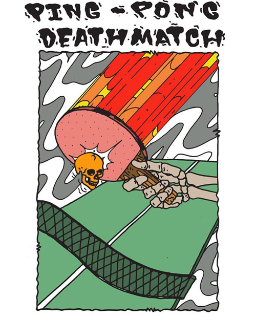 Ping Pong Deathmatch at Century Bar - Sports bar promotions