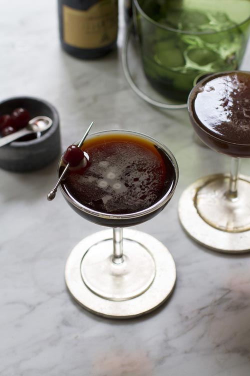 Black Velvet cocktail recipe - 2016 National Beer Lover's Day recipes