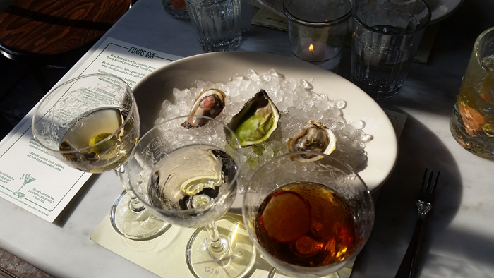 Ford's Gin Martinis and Oysters - 2016 Tales of the Cocktail gin events