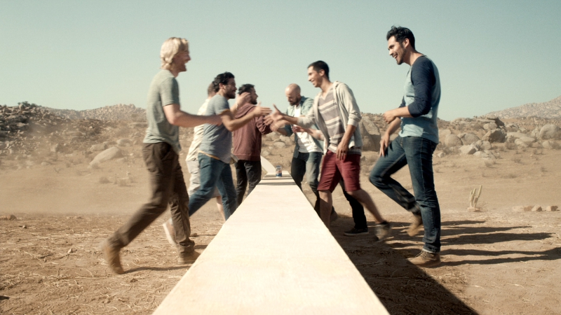 Tecate Light builds a wall to unify - Tecate Born Bold