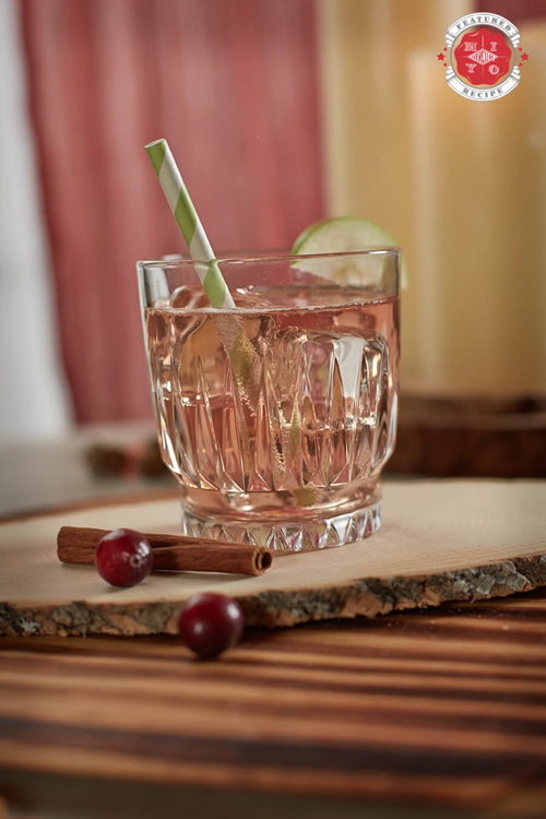 Fall Flavors Highball cocktail recipe - Apple and pear cocktails