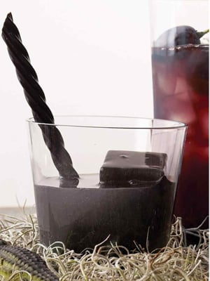 Black Lagoon cocktail recipe - 2016 National Vodka Day