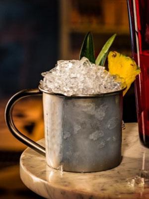 Drambuie & Reyka Vodka Silver Lining cocktail recipe - 2016 National Vodka Day