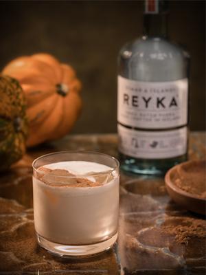Pumpkin Spiced Lebowski cocktail recipe - 2016 National Vodka Day recipes