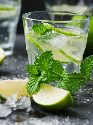 Rangoon Gimlet cocktail recipe - 2016 National Vodka Day