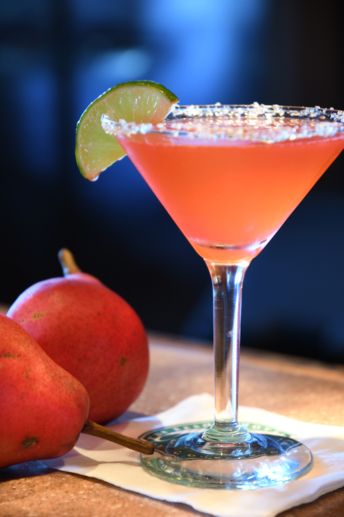 Autumn Peartini cocktail recipe - Seasonal pear cocktails