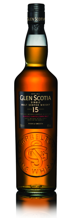 Glen Scotia 15 Year single malt scotch whisky - Loch Lomond Group portfolio