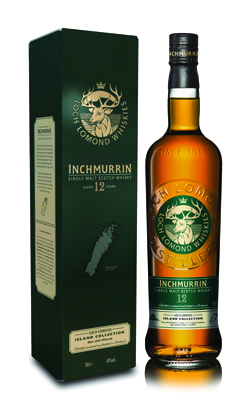 Inchmurrin 12 Year scotch whisky - Loch Lomond Group portfolio