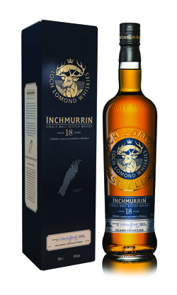 Inchmurrin 18 Year scotch whisky - Loch Lomond Group portfolio