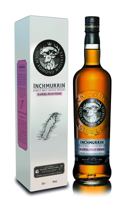 Inchmurrin Madeira Wood Finish scotch whisky - Loch Lomond Group portfolio