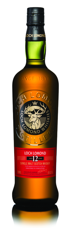 Loch Lomond 12 Year single malt scotch whisky - Loch Lomond Group portfolio